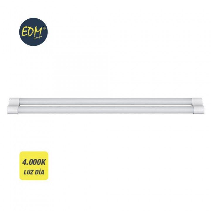 EDM LAMPADA LED TUBO 2X18W 3400LM 1195MM