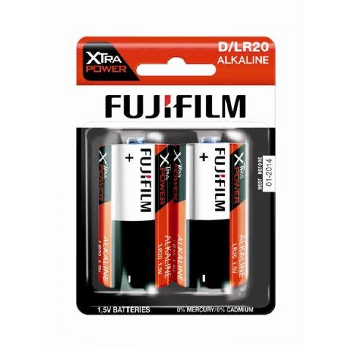 FUJIFILM PILHAS ALKALINE XTRA POWER D/LR20 BL2