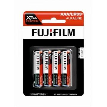FUJIFILM PILHAS ALKALINE XTRA POWER AAA/LR03 BL4