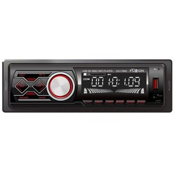 TECH FUZZION AUTO RADIO PAINEL DESTACAVEL 4x50W FM BT USB MP