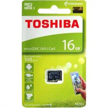 TOSHIBA CARTAO MEMORIA MICRO SDHC 16GB CLASSE 10