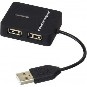 CONCEPTRONIC HUB TRAVEL 4 PORTA USB 2.0