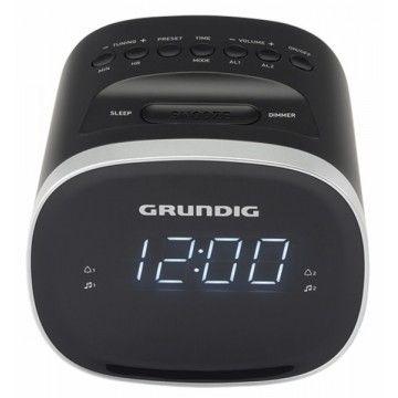 GRUNDIG RADIO RELOGIO DESPERTADOR FM/AM