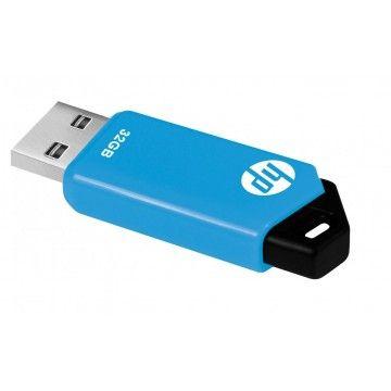 HP PEN DRIVE 32GB USB 2.0 V150W AZUL