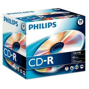 PHILIPS CD-R 80MIN 700MB 52x