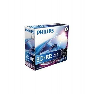 PHILIPS BLU-RAY REWRITABLE 25GB 2x