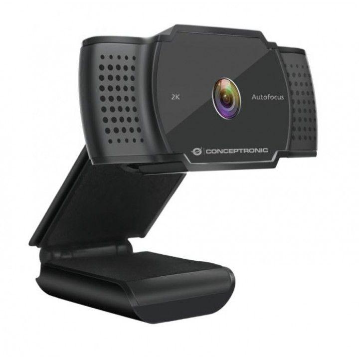 CONCEPTRONIC WEBCAM 2K SUPER HD C/FOCAGEM AUT E MICROFONE