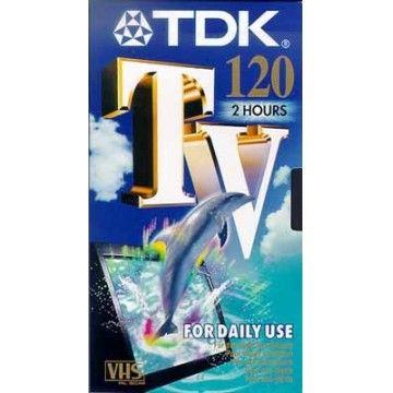 TDK K7 VIDEO E 120TVED