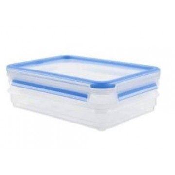TEFAL CLIP & CLOSE PLASTICO RETANGULAR 0.80L