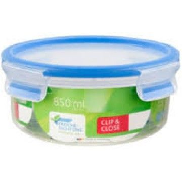 TEFAL CLIP & CLOSE PLASTICO REDONDA 0.85L
