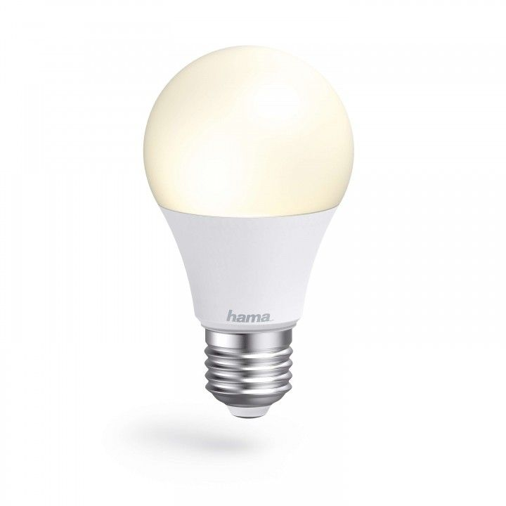 HAMA WIFI LED LIGHT E27 10W WHITE CAN BE DIMMED
