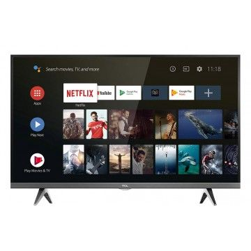 """TCL LED 32"""" ANDROID HD SMART TV 2HDMI 1USB A+"""