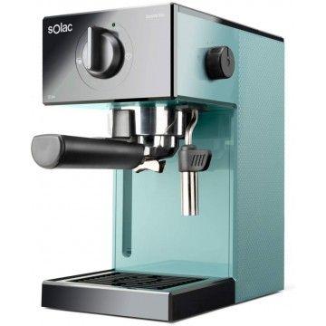 SOLAC MAQUINA CAFE EXPRESSO 1050W 20BAR AZUL