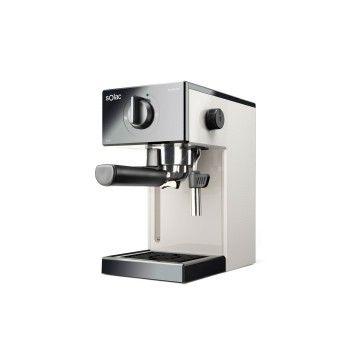 SOLAC MAQUINA CAFE EXPRESSO 1050W 20BAR FRONTAL PRETO