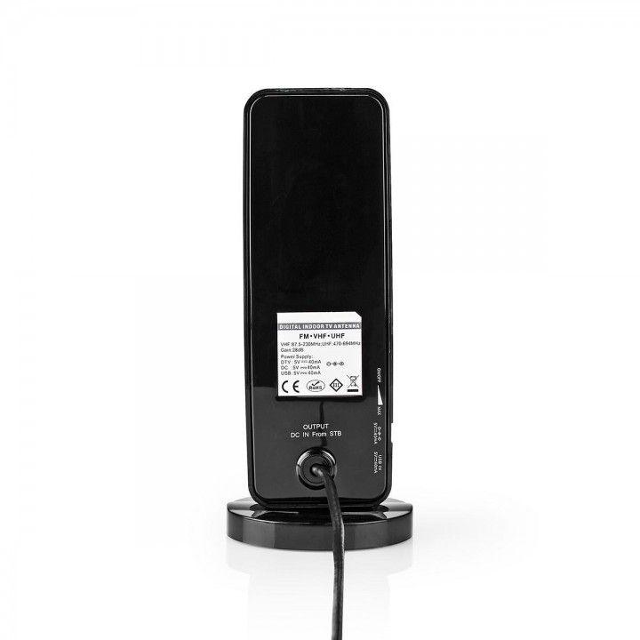 NEDIS ANTENA INTERIOR HDTV 0-15KM FM/VHF/UHF