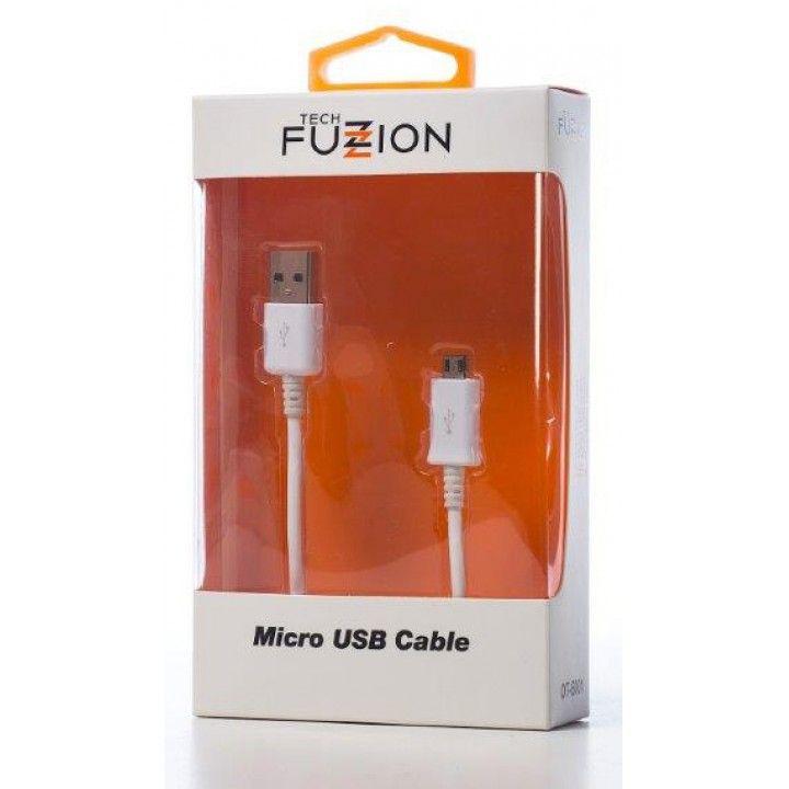 TECH FUZZION MICRO USB CABLE WH