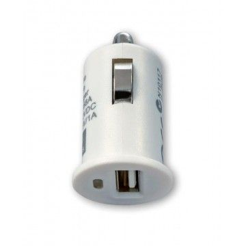 TECH FUZZION CAR CHARGER 1USB 12V CABLE WH
