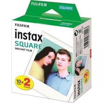 FUJIFILM PAPEL FOTOS PARA INSTAX SQUARE 2PK X 10FOLHAS