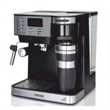 HAEGER MAQUINA CAFE EXPRESSO 850W+600W CAFE MOIDO