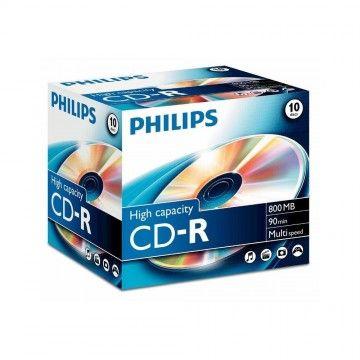 PHILIPS CD-R 90MIN 800MB 40x