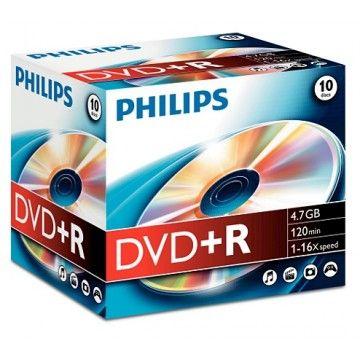 PHILIPS DVD+R 120MIN 4,7GB 16x