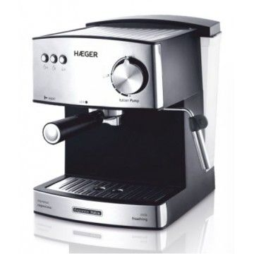 HAEGER MAQUINA CAFE EXPRESSO 850W CAFE MOIDO/PASTILHA