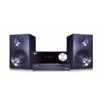 LG HIFI MICRO 100W RADIO FM CD MP3 USB BLUETOOH