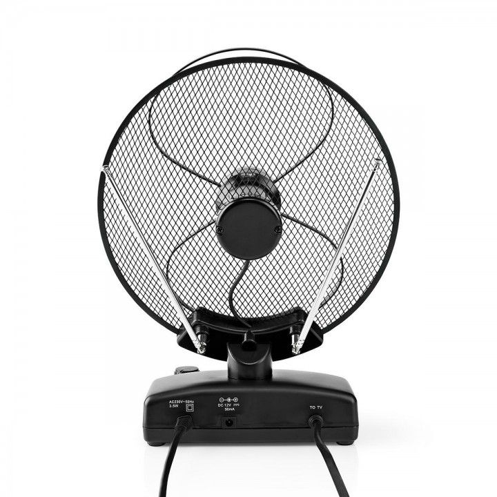 NEDIS ANTENA INTERIOR DVB-T / T2 0-25 km 36dB FM/VHF/UHF