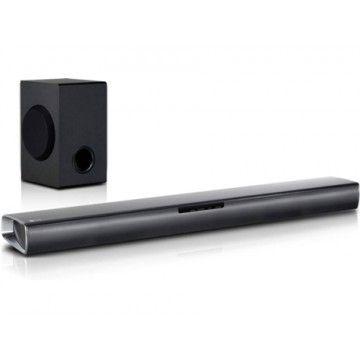 LG BARRA DE SOM 160W BLUETOOTH USB 660x55x99MM